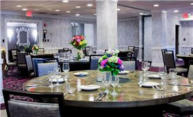 Dining Table Facility At Churchill Hotel Near Embassy Row Washington