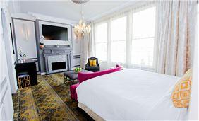 Room Interior 2 At Churchill Hotel Near Embassy Row Washington