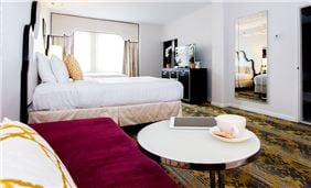 Room Interior At Churchill Hotel Near Embassy Row Washington