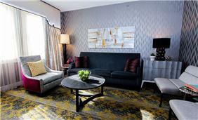 Suite Sitting Area 2 At Churchill Hotel Near Embassy Row Washington