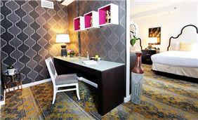 Suite Sitting Area At Churchill Hotel Near Embassy Row Washington