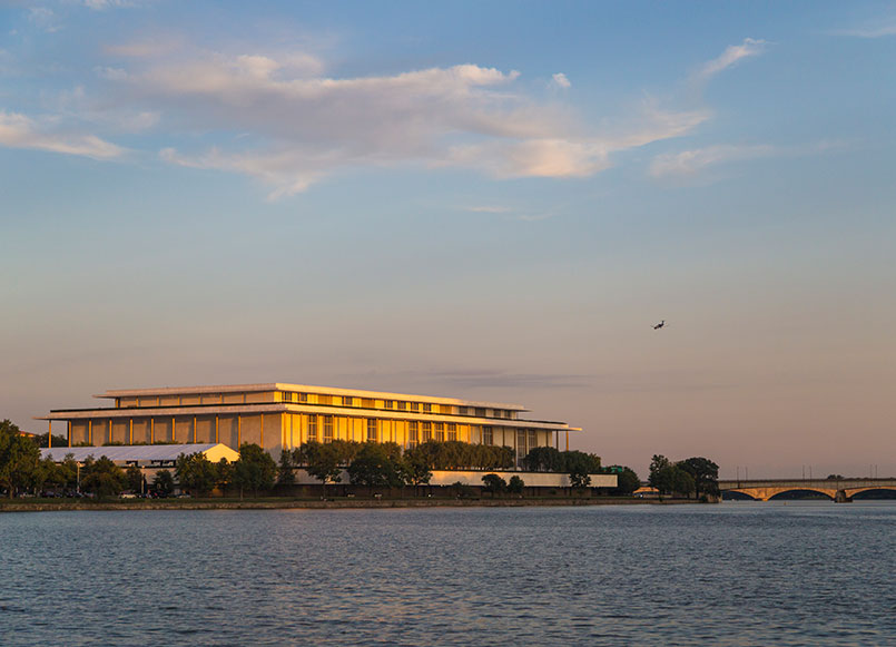 Kennedy Center Around Churchill Hotel, Washington