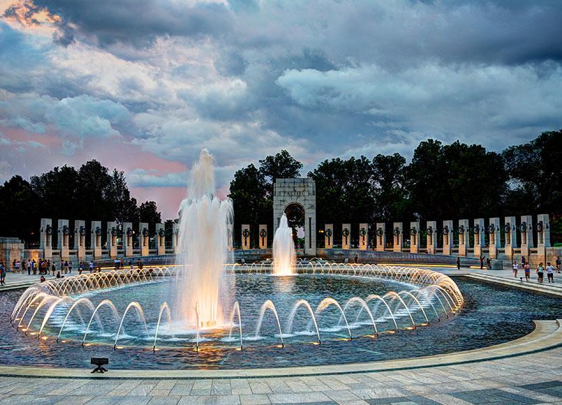 Monuments National World War Of Churchill Hotel Near Embassy Row, Washington