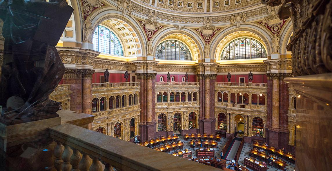 Library Of Congress At Washington