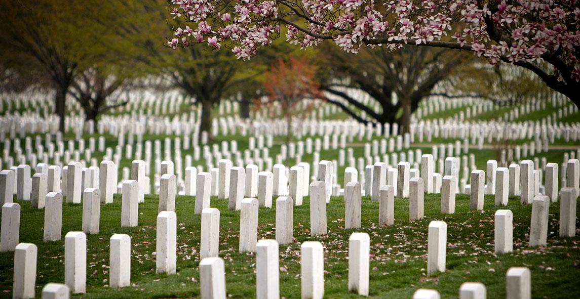 Monument Memorial Arlington National Cemetery at, Washington
