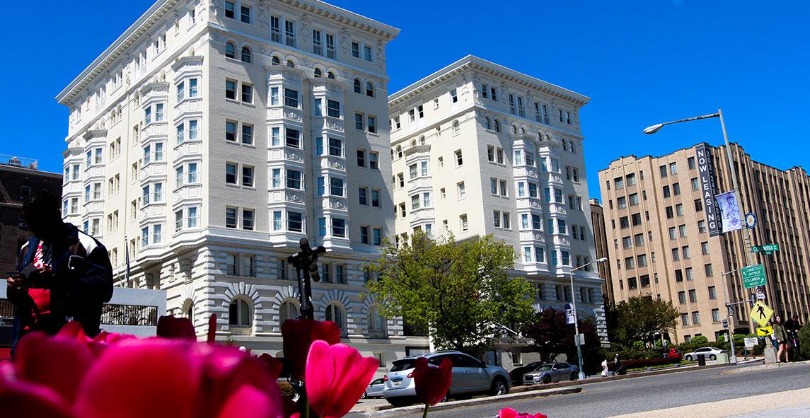 Sitemap Of Churchill Hotel Near Embassy Row, Washington