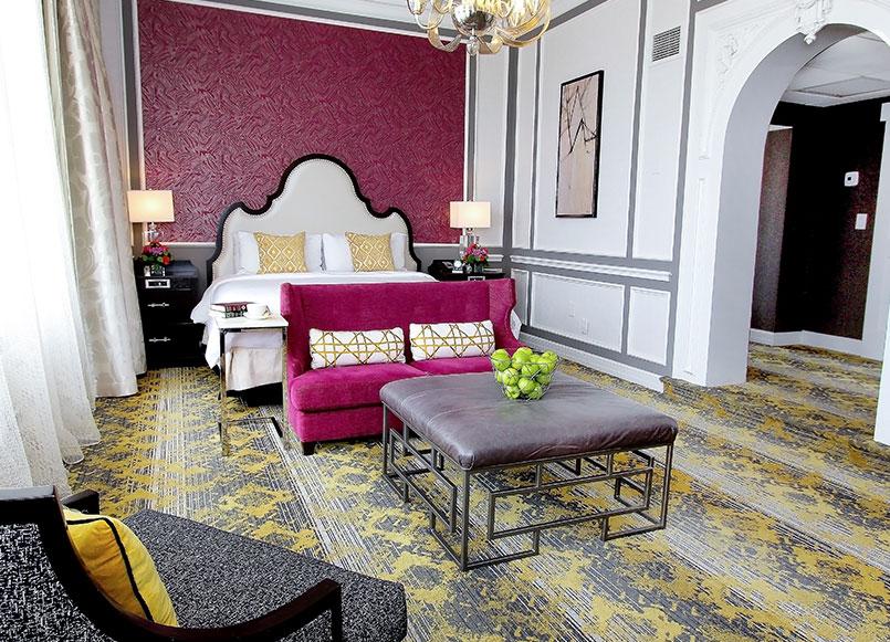 Diplomat Suite At Churchill Hotel Near Embassy Row, Washington